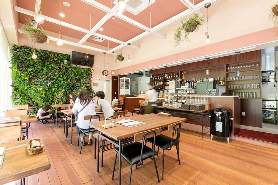 カフェの内観イメージ