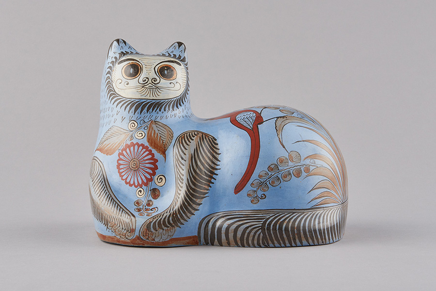 陶器の猫 国立民族学博物館蔵