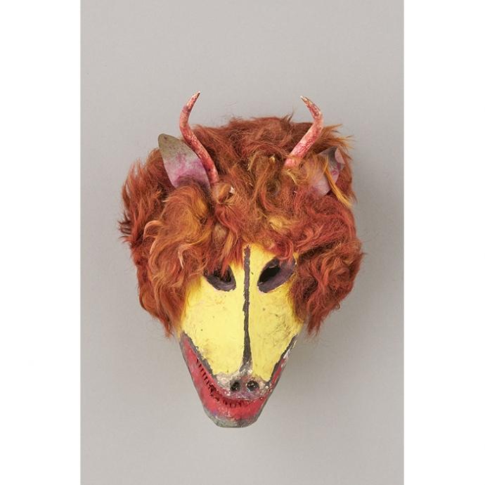 先住民族コラの儀礼用仮面 国立民族学博物館蔵