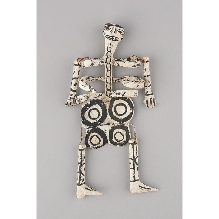 ユダ人形(骸骨) 国立民族学博物館蔵