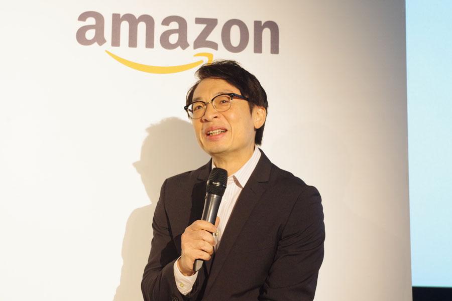 関西圏の事業推進を宣言したアマゾンジャパンのジャスパー・チャン社長