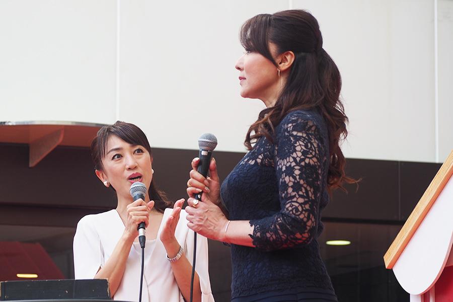 「神戸阪急さんの頑張るぞという姿を見せていただいて、帰ってくる楽しみが増えました」と浅野