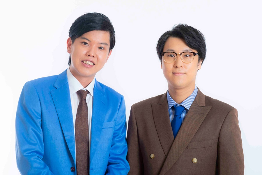 エンペラー(左から安井、にしやま)(c)YOSHIMOTO KOGYO CO.,LTD.