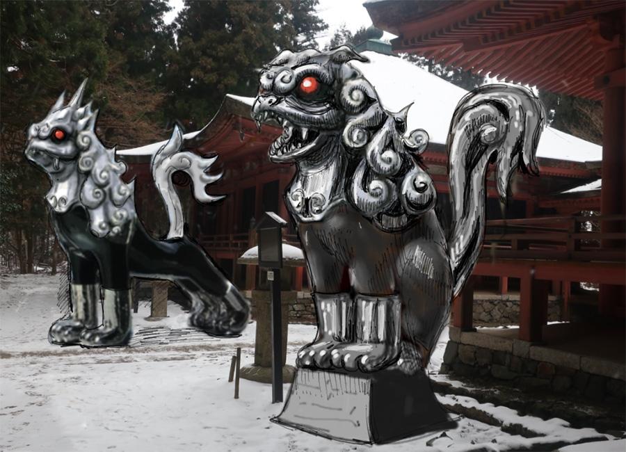 《KOMAINU―Guardian Beasts-(2019)/ヤノベケンジ》の作品イメージ