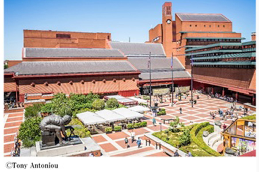 イギリス・大英図書館の外観