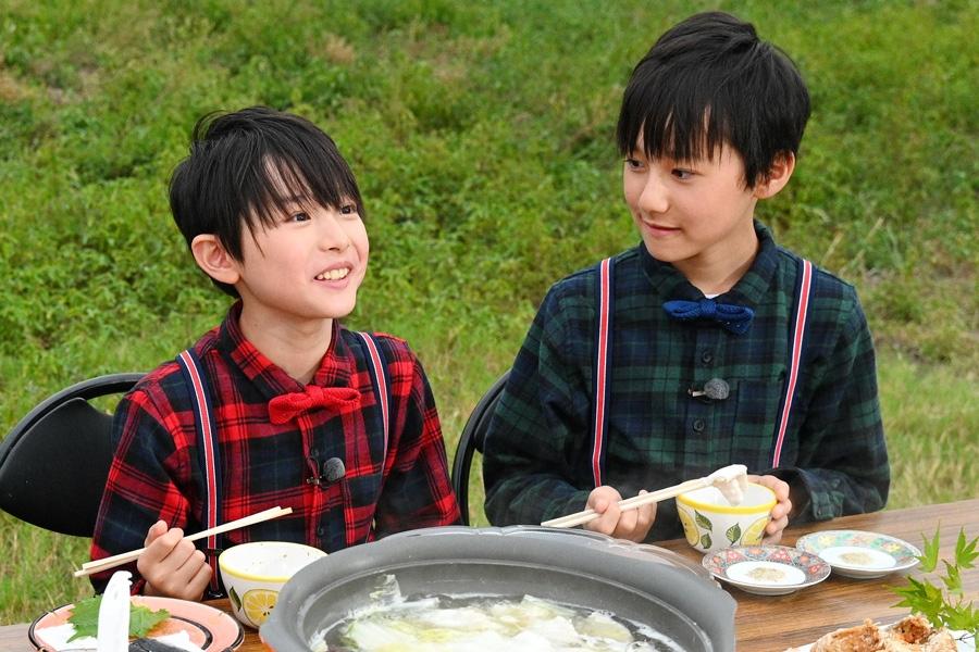 関西ジャニーズJr.最年少兄弟の(左から)伊藤篤志、伊藤翔真(写真提供:MBS)