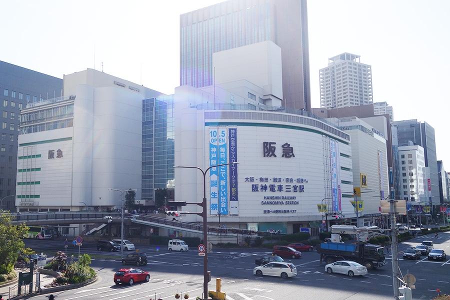 10月5日から「神戸阪急」として営業