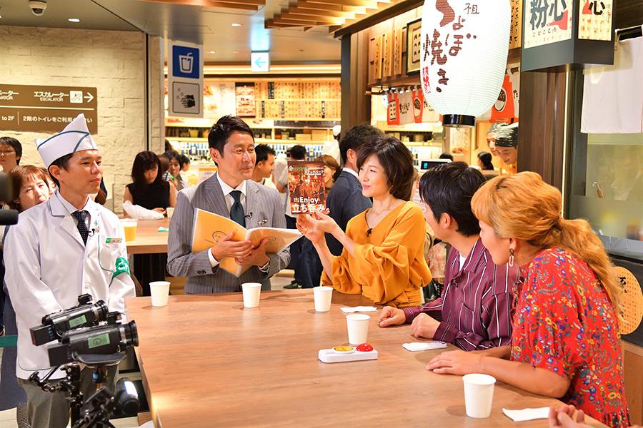 阪神の人気フードコートを体験 提供:MBS