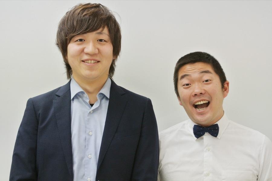 丸亀じゃんご(左から北村敏輝、安場泰介)(c)YOSHIMOTO KOGYO CO.,LTD.