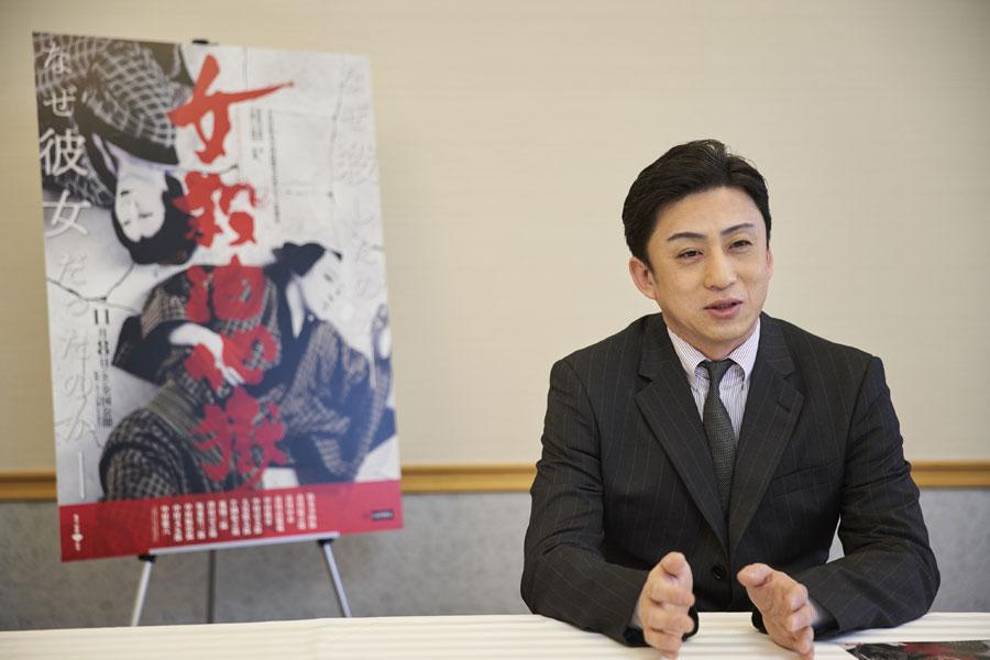 「歌舞伎の可能性を探っていきたい」と意気込む松本幸四郎