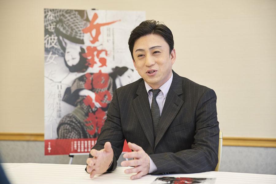 「目の動きの小さな変化など、しっかりと見ていただきたい」と松本幸四郎