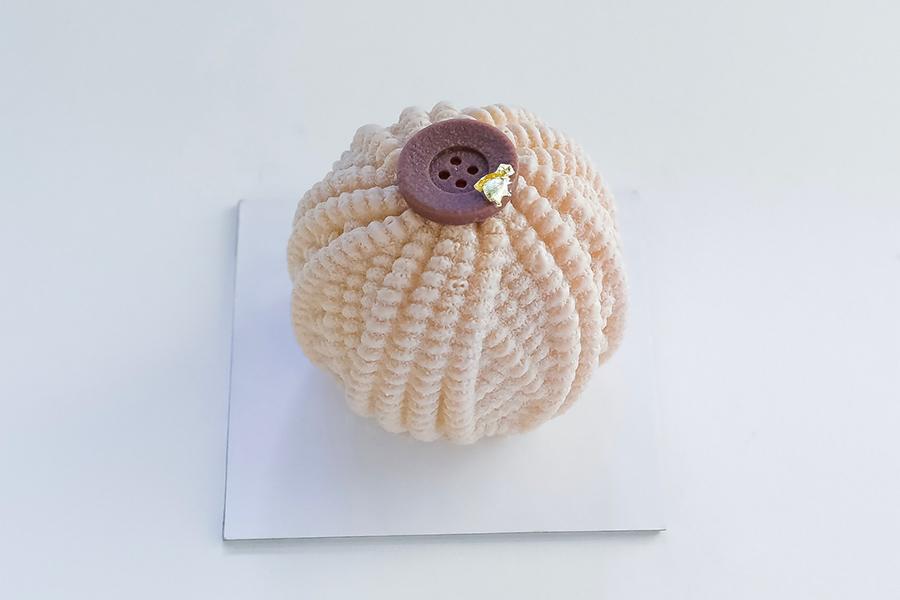 マサヒコ オズミ パリの造形美を追究したモンブラン810円