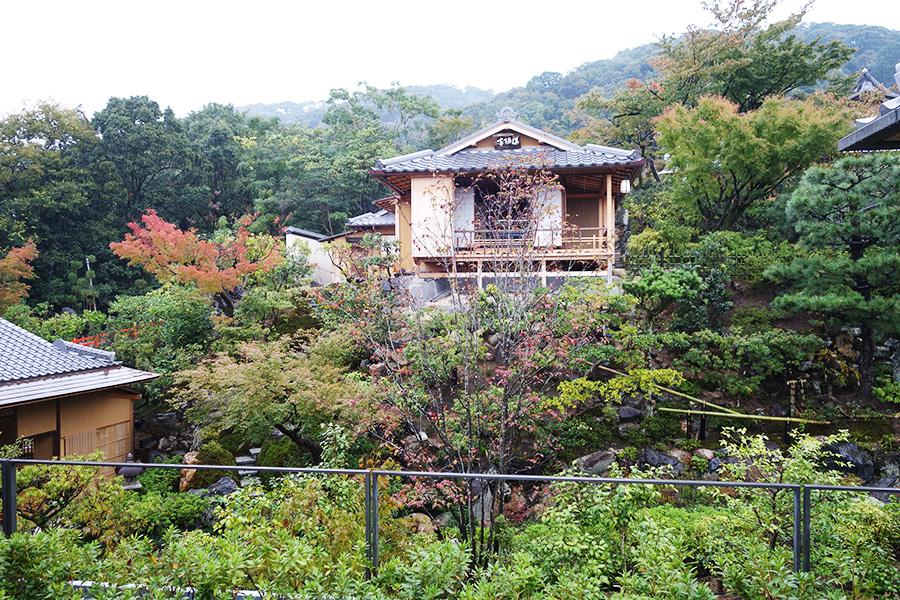美しい日本庭園に囲まれた「京大和」