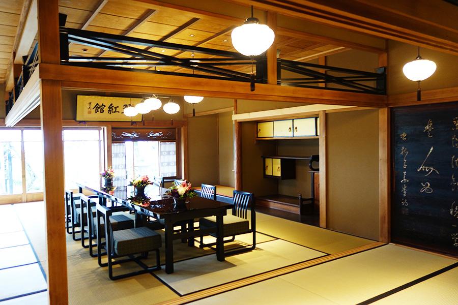 「京大和」の翠紅館。江戸末期に桂小五郎など各藩士代表者の「翠紅館会議」などが催された