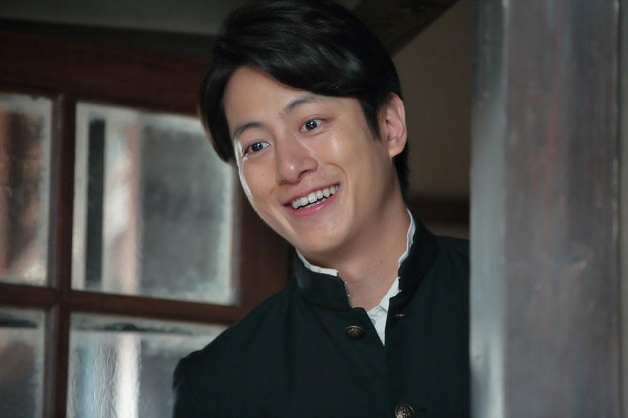 「喜美ちゃんと圭介は、これからどんどん関係性が近づいていきますし、2人のやりとりも微笑ましいシーンになってるので楽しんで」と溝端淳平 (C)NHK