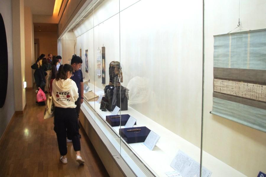 日本の細かい装飾技術を駆使した品も数多く展示された『特別展 豊臣外交 』(13日・大阪城天守閣)