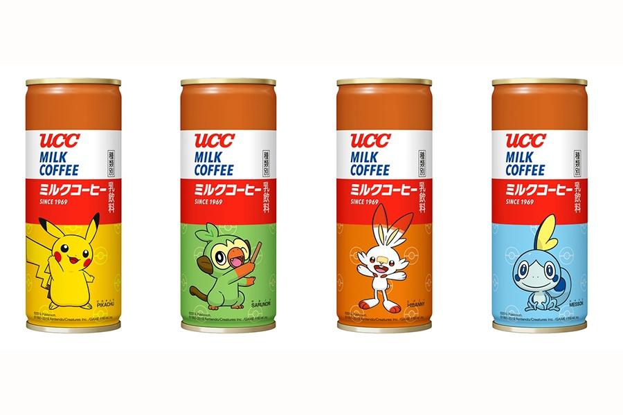 『UCC ミルクコーヒー ポケモン缶 250g』(115円・税別)