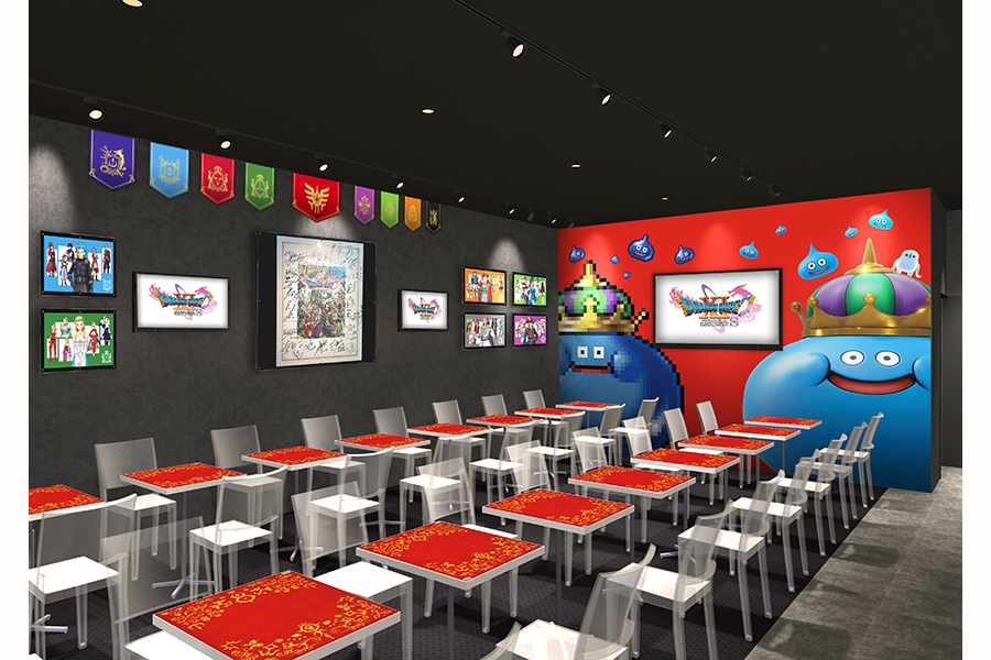 「SQUARE ENIX CAFE Osaka」内観イメージ