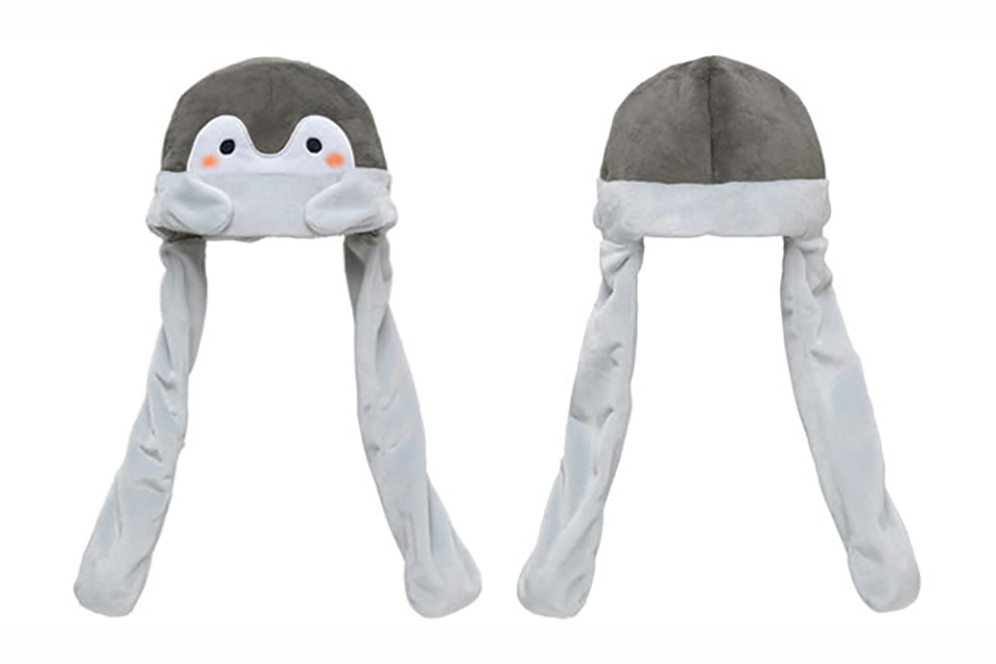 12月18日から発売予定の新商品「おててぴょこぴょこ帽子」(1900円・税別)