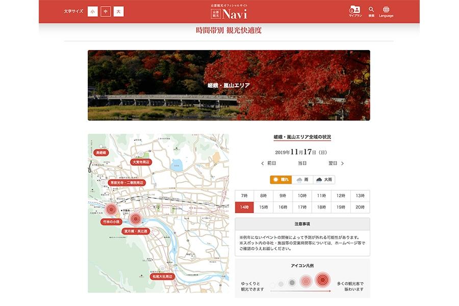 京都 混雑 状況
