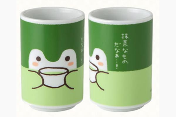 コウペンちゃん 抹茶なものだなあ・・・湯のみ(1400円・税別)