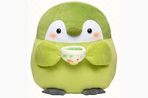 コウペンちゃん 抹茶なものだなあ・・・ぬいぐるみ(Lサイズ3000円・税別)