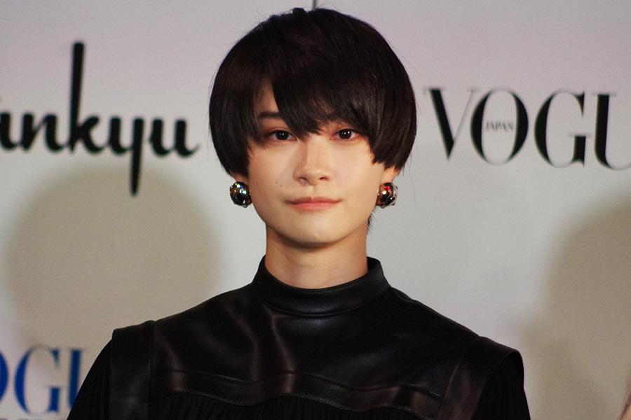 同イベント初登場の中山咲月は、「メンズファッションが好きなので、メンズファッションを中心に見て行きたいと思います」とコメント