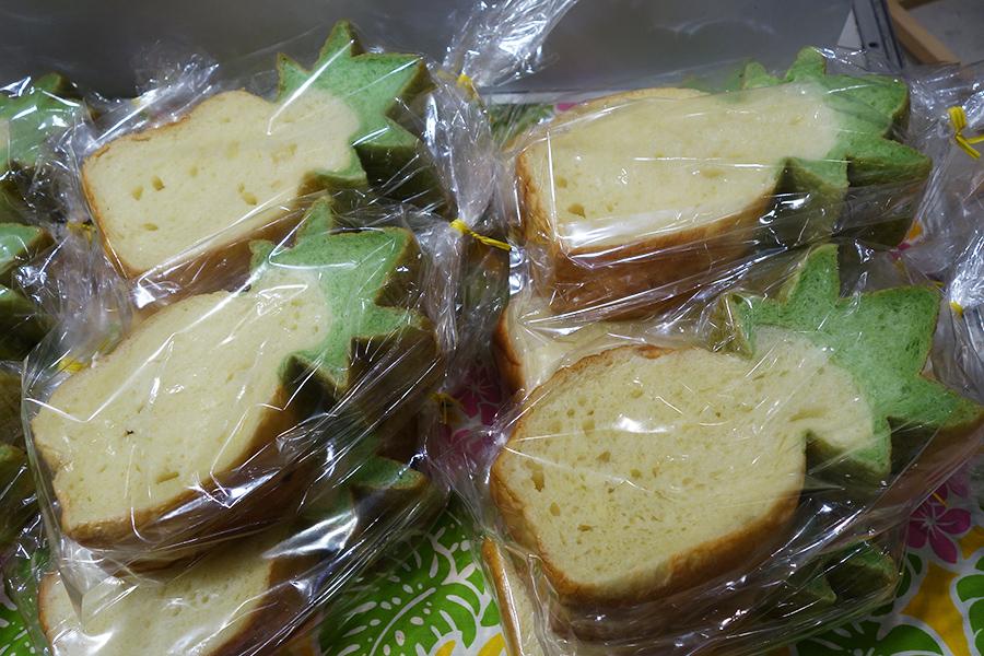 マラサダドーナツの店によるパイナップルブレッド540円
