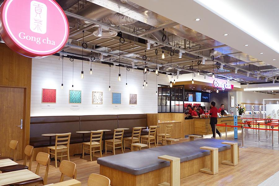 リンクス梅田の4階にオープンする「ゴンチャ LINKS UMEDA店」