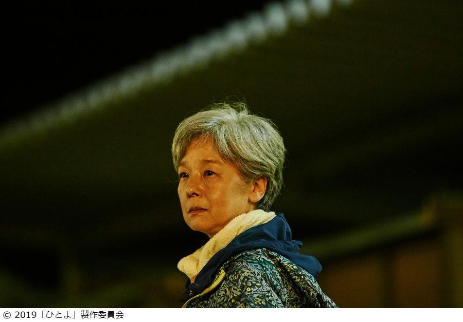 名女優として映画作家から出演を熱望される田中裕子