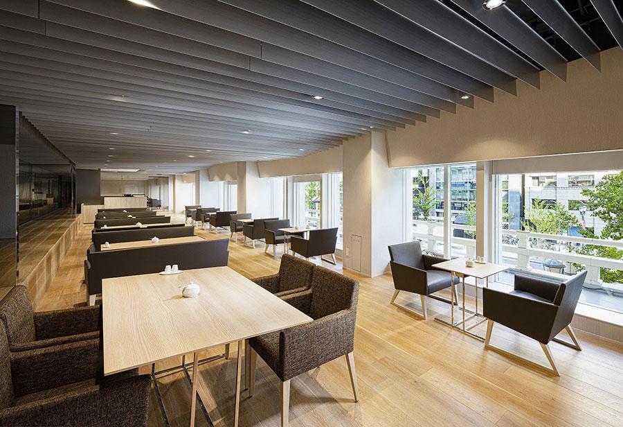 2階のカフェラウンジ「コアガリ」