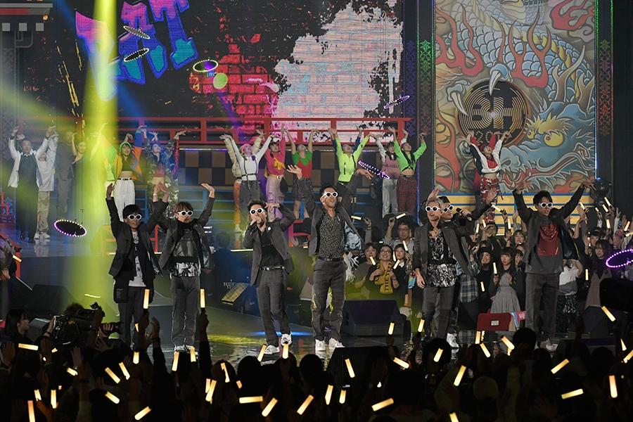 地上波初披露となった三代目JSOUL BROTHERSのラタタダンス