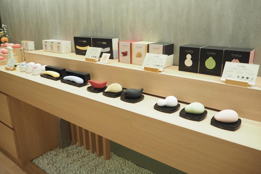 アダルトグッズメーカー・TENGAによる女性向けセルフプレジャーブランド「iroha」の常設店も