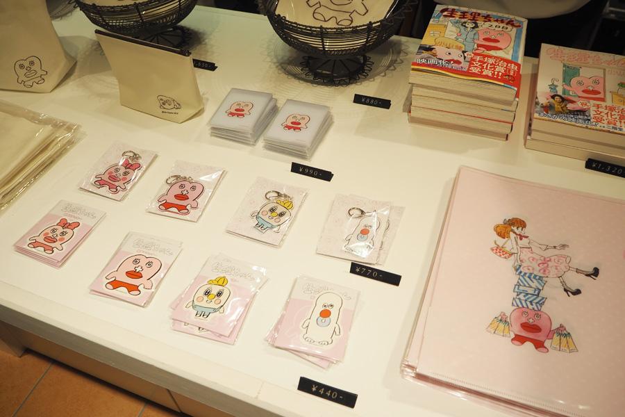 生理を擬人化した漫画『生理ちゃん』とコラボ。大丸梅田店限定のグッズも販売