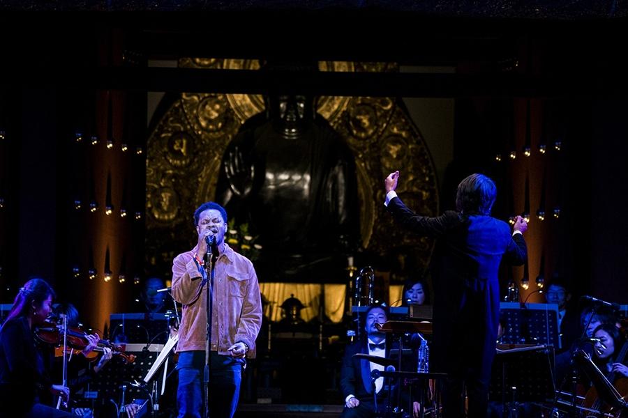 「モータウン」の今を代表するシンガーのBJ・ザ・シカゴ・キッド(3日・奈良市内)