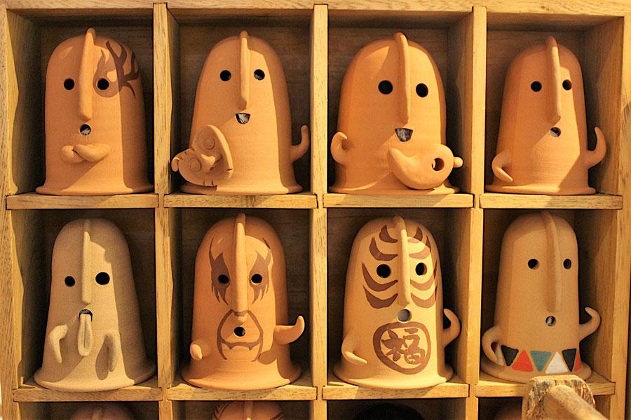 屋号 埴屋(はにや)で活動する陶彫家・にしのまさひろ氏の作品