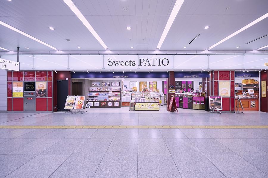 パンフェスタ商品が販売されるスイーツギフト店「Sweets PATIO」外観