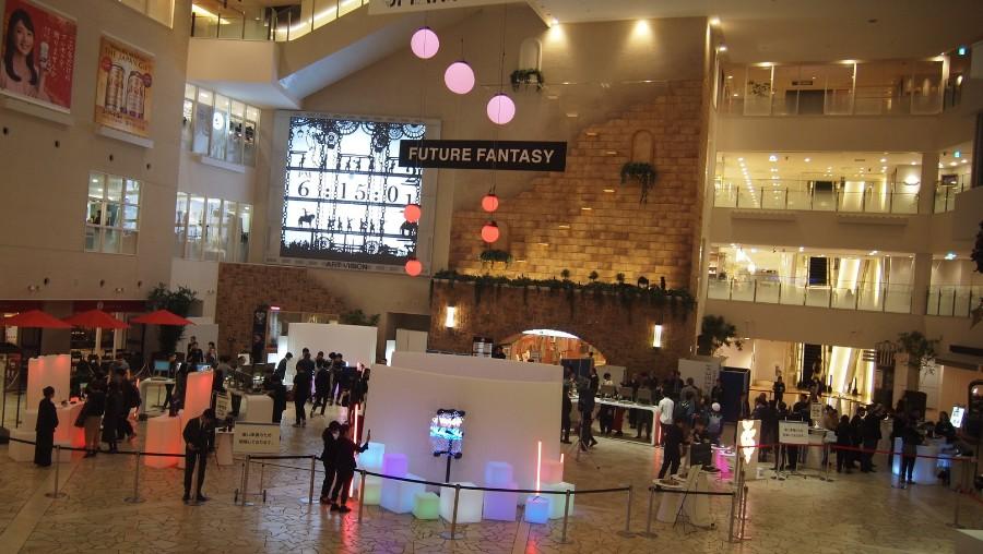 「阪急うめだ本店」の9F祝祭広場に現れたデジタルガジェット専門店