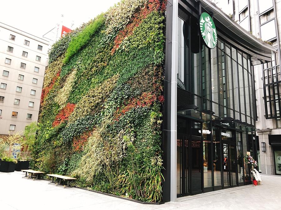 大阪駅前にある「スターバックス コーヒー LINKS UMEDA 2階店」の店舗