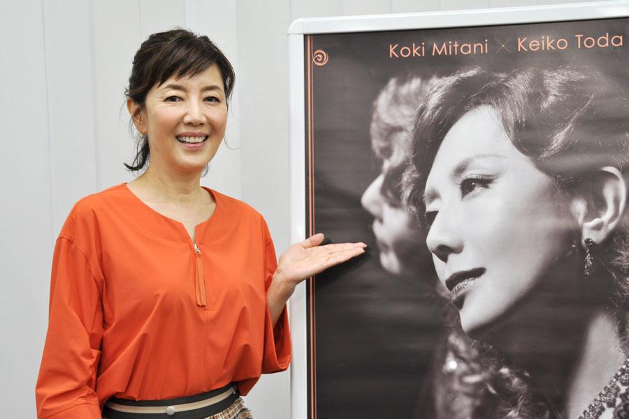 今回の企画は、「三谷さんがジュディ・ガーランドを選んでくださいました」と戸田恵子(10月25日・大阪市内)
