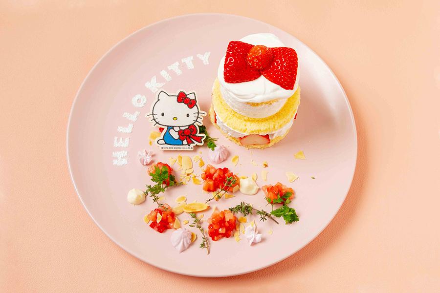 「ハローキティのいちごケーキ」(1480円)