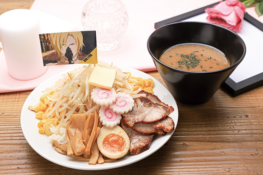 前回、東京でおこなわれたカフェで登場し、今回は大阪会場限定で復刻するどさんこラーメンライス