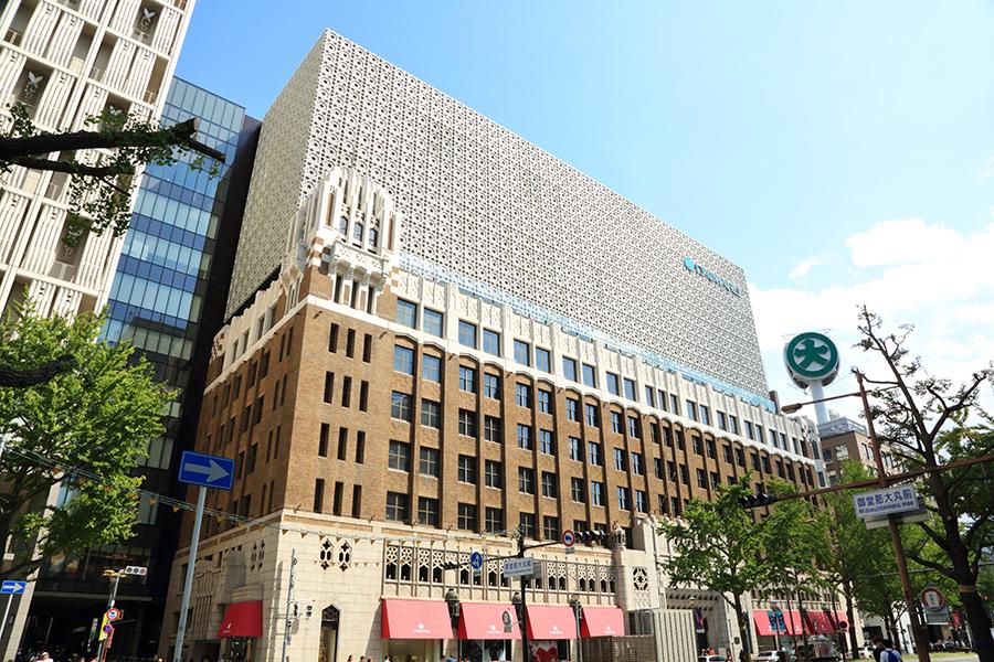 ヴォーリズ建築を活かしたままグランドオープンした大丸心斎橋店 本館。北館は休館中