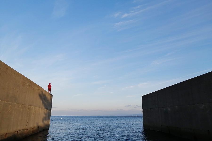 「海のホテル 島花」でチェックインし、専用の船でクルージングして移動
