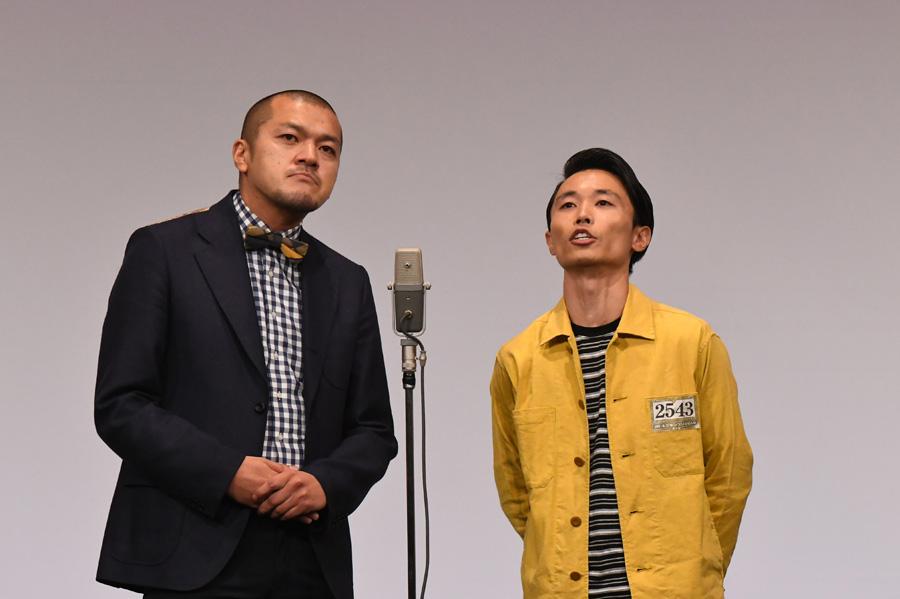 カミナリ(4日・準決勝の様子)(C)M-1グランプリ事務局