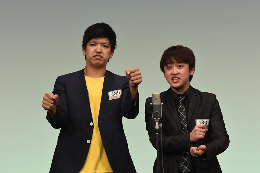 からし蓮根(準決勝の様子)(C)M-1グランプリ事務局