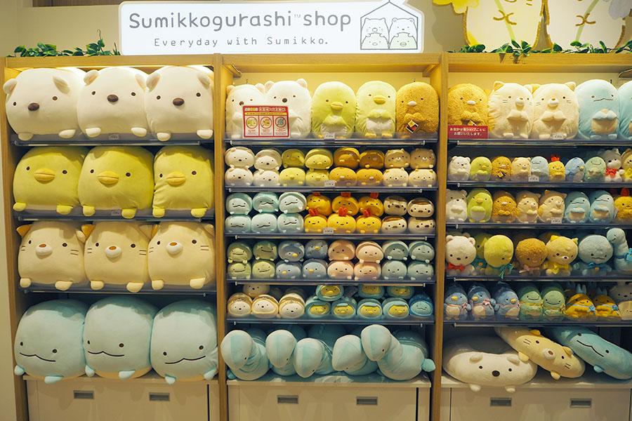 京都初出店の「すみっコぐらしshop」