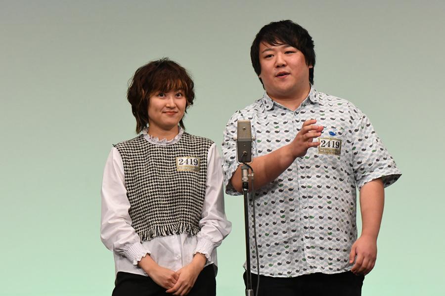 ラランド(4日・準決勝の様子)(C)M-1グランプリ事務局