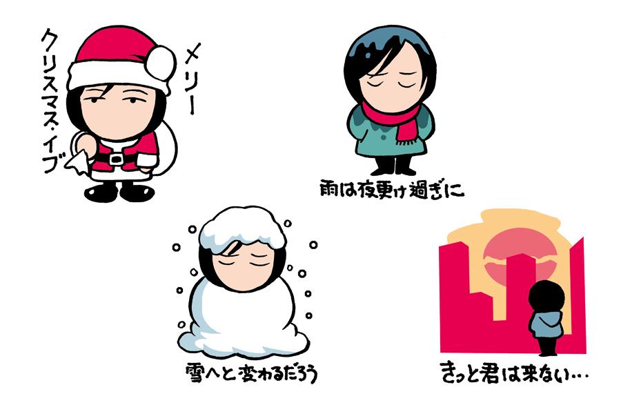 山下達郎作品のジャケットやMVに登場することで、ファンにおなじみとなっているキャラクター、タツローくんLINEスタンプ