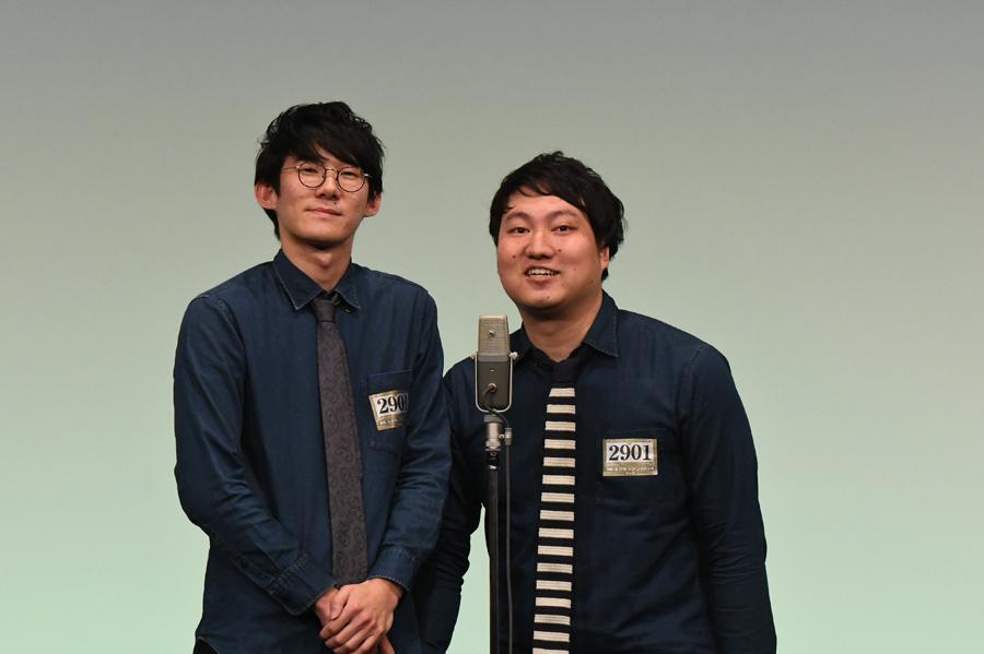 ロングコートダディ(4日・準決勝の様子)(C)M-1グランプリ事務局
